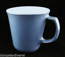Steel Blue D handle Pyrex Corning Corelle Coffee mugs mug cups vintage 60s 70s