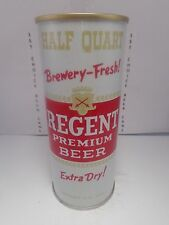 REGENT PREMIUM STRAIGHT STEEL PULL TAB 16oz BEER CAN #163-18 NORFOLK, VA.