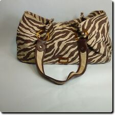 Relic Zebra Stripe Canvas Bag