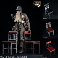 """1/6 Scale Assembled Chair For 12"""" Model Action Figure Hot Toys"""