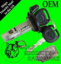Chevy Trailblazer 2002 Ignition Switch Lock Cylinder Single Door Lock Set 2 Key