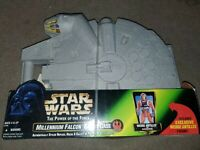New Kenner Star Wars Power Of The Force Millennium Falcon Figure Carrying Case