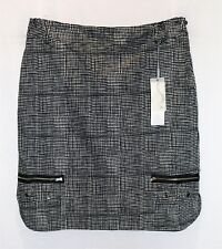 M.E.L. Australia Brand Women's Black White Check Skirt Size 16 BNWT #SD76