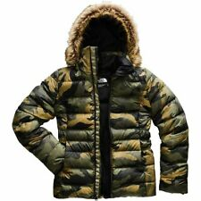 NWT WOMEN'S The North Face Gotham Down Jacket II TNF Camouflage