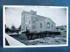 Postcard CA Turlock Lutheran Church