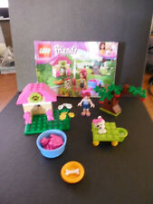 Lego 3934 Friends Mia's Puppy House - 100% complete, RETIRED