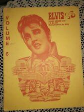 ELVIS PRESLEY  UNIQUE RECORD CLUB MAGAZINE, 1977, ELVIS DISCOGRAPHY