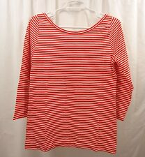 Women's J Crew Scoop Back T Shirt Medium