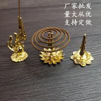 1Pcs lotus Shape Incense Burner Censer Holder Plate Incense For Stick & Cone  Cw