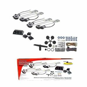 Deluxe Universal Power Windows with 7 Switches (4 Window Power Window Kit) PROW-
