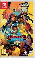 Streets of Rage 4 incl. Art Booklet & Key Ring Nintendo Switch NEW BY 2 P.M.