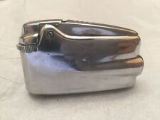 Vintage Ronson VARAFLAME Chrome Lighter RETRO Streamline Deco Machine Age