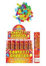 Multicolour Paper Confetti Shooter (20cm) Party Time - UK Stockist20 Tubes
