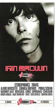 IAN BROWN (Stone Roses) Weston Park 2002 UK FLYER/ mini Poster 8x4 inch postcard
