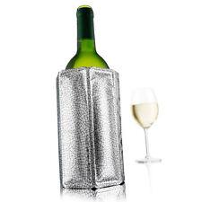 VacuVin Rapid Ice Wine Cooler Sleeve (Silver)