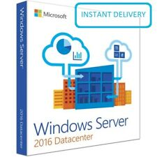 Microsoft Windows Server 2016 Datacenter Key Code 64Bit Genuine Activation