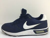 Nike Nightgazer 644402412 Navy Blue Fabric Sports Trainers Mens Size UK 11 Eu 46