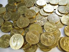 Lot of $25 in Circulated Gold Presidential Dollars. 2007-2011 Most Denver