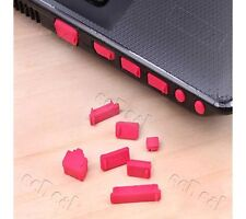 13 pc Laptop Notebook Anti Dust Plugs Ports Cover Stopper Earphone Dust Proof