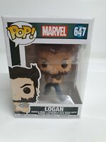 Marvel Comics X-Men Wolverine Logan Funko Pop Vinyl Figure 647 Bobble-Head