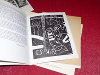 [Bibl. R-JEAN MOULIN ART XXe] CATALOGUE PdM ESPAGNE Linos 1965 ORTEGA HERNANDEZ