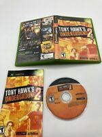 Microsoft Xbox CIB Complete Tested Tony Hawk's Underground 2
