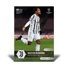 Topps Now UCL 2020-21 - Card 032 - Weston McKennie - Juventus TurinTrading Card Einzelkarten - 261328