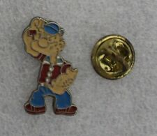 1990s King Features Popeye The Sailor vintage lapel pin 2.5 x 1.5 cm. approx Htf