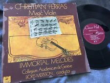 FERRAS Christian Magic Violin Immortal Melodies Recital MERSSON Geneve SMS ST TU