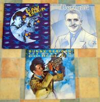 Bunny Berigan - Complete Vol 1,2 & 3 - vinyl LP Bluebird  DOUBLE ALBUMS