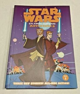 STAR WARS CLONE WARS ADVENTURES COMIC BOOK Volume 1