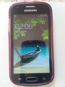 Samsung GALAXY Trend Plus GT-S7580 - 4GB - Black (Unlocked) Smartphone