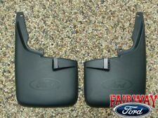 11 thru 16 Super Duty F250 F350 Ford Splash Guards Mud Flaps w/o Lips 2pc FRONT