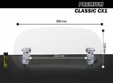 PREMIUM Wind Screen Deflector for motorcycle motorbike Classic windshield LOW