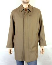 euc Calvin Klein recent Quilted Insulated Twill Trench Pea Coat Overcoat 40 R