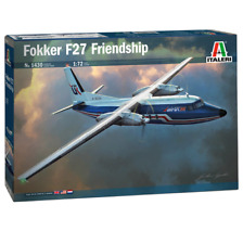 ITALERI Fokker F27-400 Friendship 1430 1:72 Plastic Model Kit