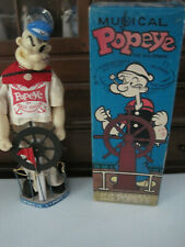 1950's Popeye musical doll from Woolnough in orig. box