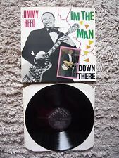 JIMMY REED I am the Man Down There UK 1st PRESS 1985 Charley VINYL LP A1/B1 EXC +
