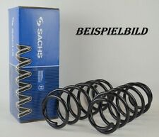 2x Sachs 998115 Federn Fahrwerksfedern Vorne FORD FIESTA V 1.25-1.6