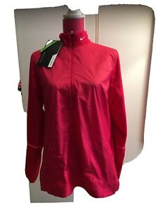 NWT Nike Golf LS Windbreaker Pink Size XL