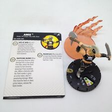 Heroclix Superior Foes of Spider-Man set Ares #057 Super Rare figure w/card!