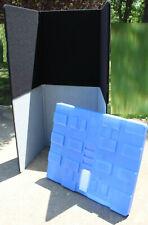 "Set Radius Display 3-Panel Stackable Tabletop Display Boards 28"" X 35.5"""