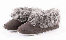 Shepherd Sheepskin Slippers- Women's Slippers- Svea- Asphalt (Size 41 / 7)