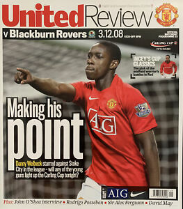 MANCHESTER UNITED V BLACKBURN ROVERS-03/12/08-LEAGUE CUP FIFTH ROUND