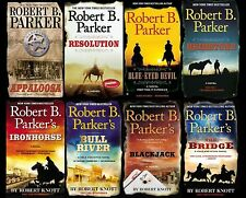 Cole & Hitch Series Collection Set Books 1-8 Mass Paperback By Robert B. Parker