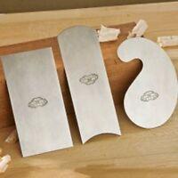 Cabinet Scraper Set , Crown 3 Piece Gooseneck, Concaved-Convex, & Rectangle 3-pc