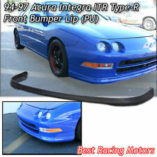 TR Style Front Bumper Lip (Urethane) Fits 94-97 Acura Integra 4dr