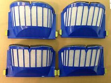 4 x OEM Roomba 500 Series Aero Vac Filter Blue 550 595 610 630 650 etc