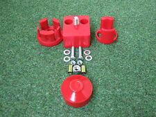 Motorlager-Set PU 82shore Golf 1 Race Rouge Polyuréthane Coussinet Douilles