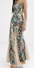 Bariano Maxi Dress Size 14 RRP $590